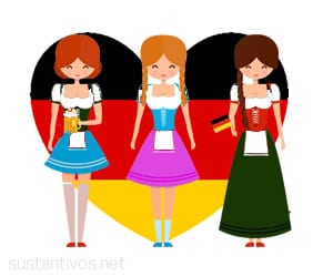 Sustantivos femeninos en alemán
